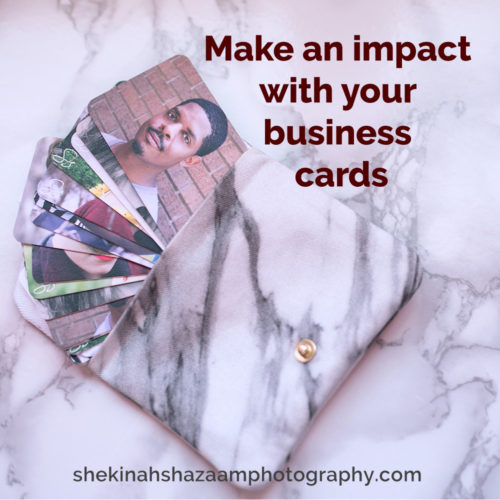 Make an impact with your business cards