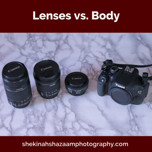 Lenses vs Body