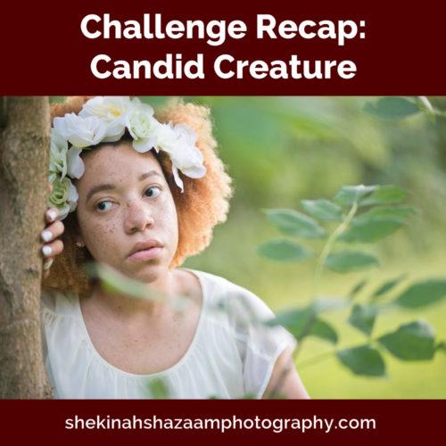 Challenge Recap: Candid Creature