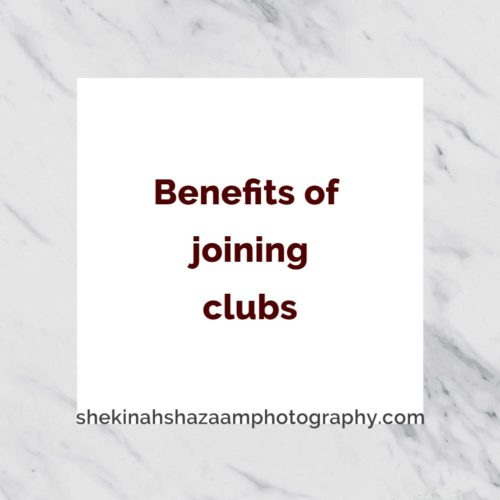 Benefits of joining clubs