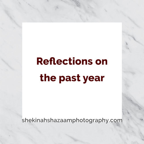 Reflections on the past year