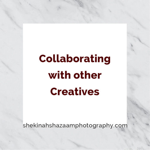 Collaborating with other Creatives