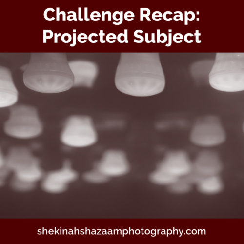 Challenge Recap: Projected Subject