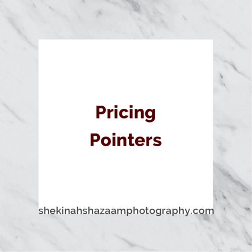 Pricing Pointers